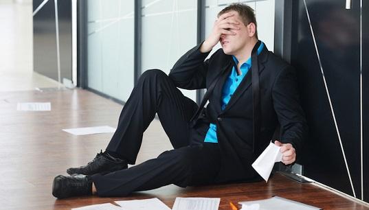 Come superare il fallimento aziendale?